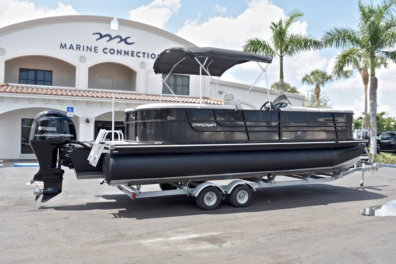 Thumbnail 9 for Used 2015 Starcraft SLS 3 Pontoon boat for sale in West Palm Beach, FL