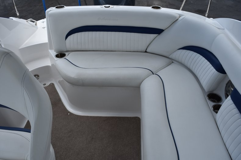 Thumbnail 9 for Used 2010 Hurricane SunDeck SD 2200 OB boat for sale in West Palm Beach, FL