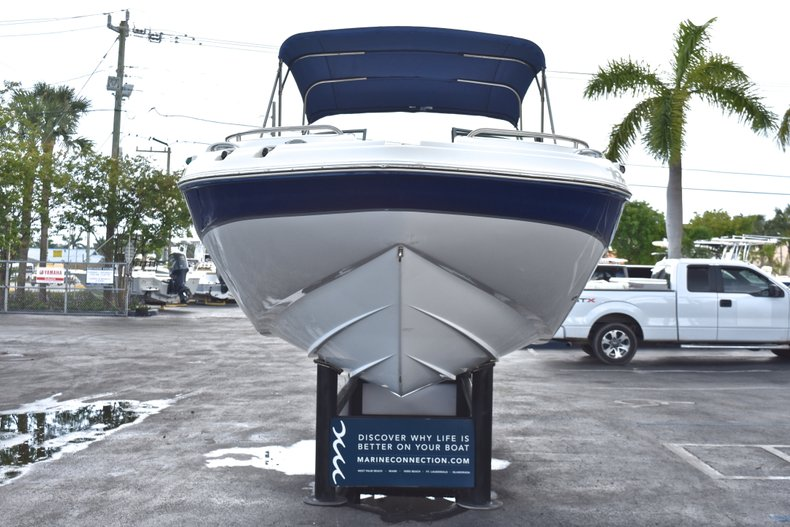 Thumbnail 2 for Used 2010 Hurricane SunDeck SD 2200 OB boat for sale in West Palm Beach, FL
