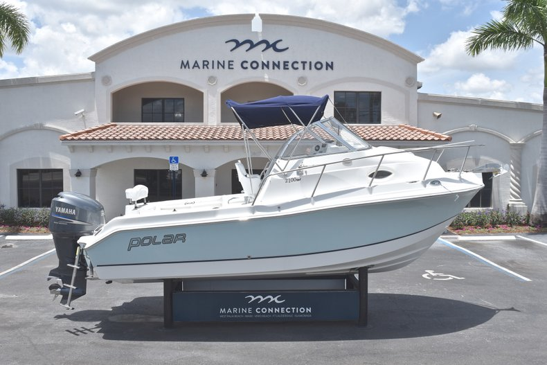 Used 2007 Polar 2100 WA boat for sale in West Palm Beach, FL