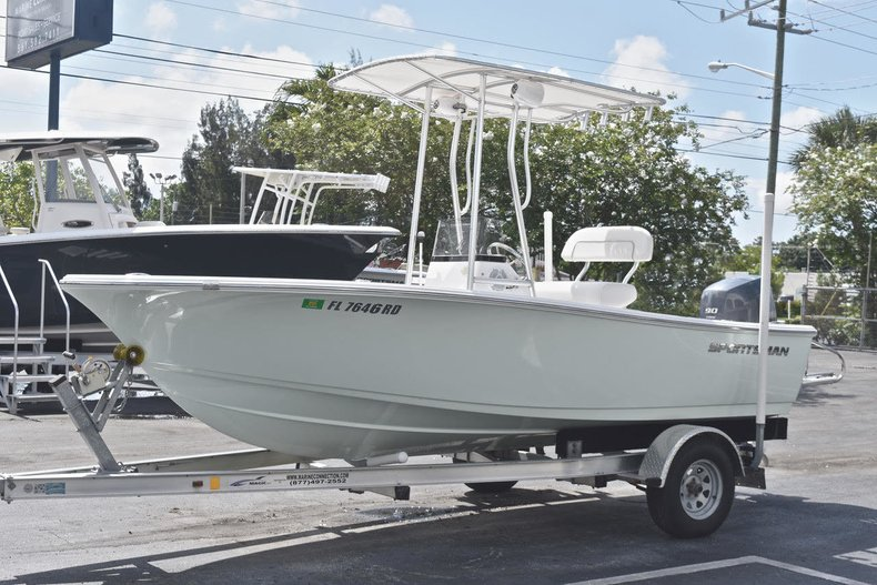 Thumbnail 2 for Used 2016 Sportsman 17 Island Reef boat for sale in West Palm Beach, FL