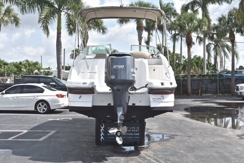 Thumbnail 6 for Used 2014 Hurricane SunDeck SD 2400 OB boat for sale in West Palm Beach, FL