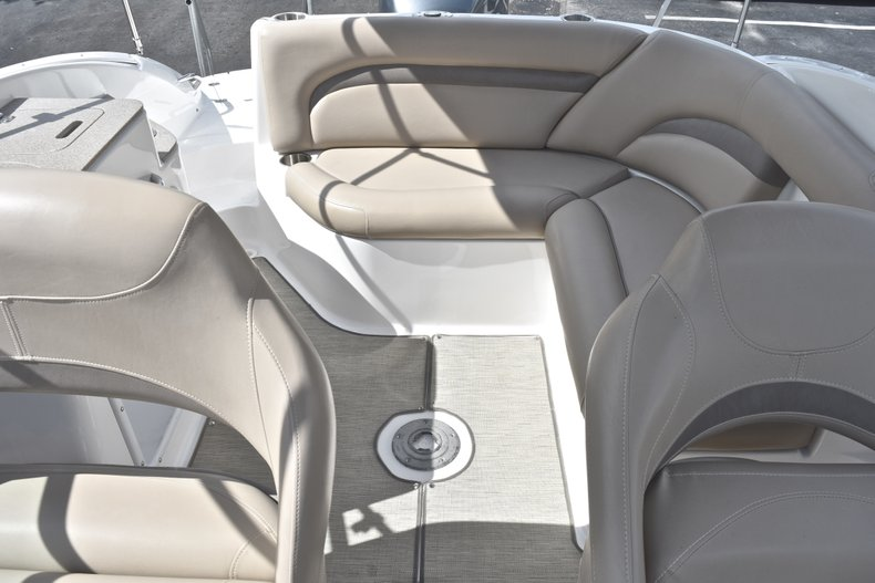 Thumbnail 10 for Used 2014 Hurricane SunDeck SD 2400 OB boat for sale in West Palm Beach, FL
