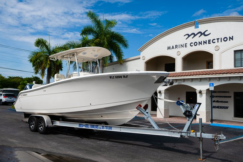 Thumbnail 1 for Used 2018 Cobia 277 Center Console boat for sale in West Palm Beach, FL