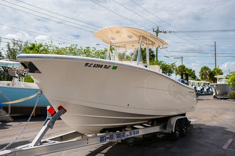 Thumbnail 3 for Used 2018 Cobia 277 Center Console boat for sale in West Palm Beach, FL