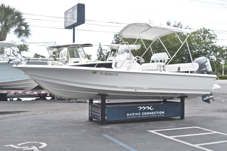 Thumbnail 4 for Used 2012 Tidewater 2100 Bay Max boat for sale in West Palm Beach, FL