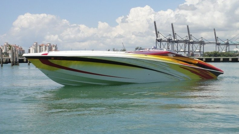 Used 2004 Hustler 50 Performance Yacht boat for sale in West Palm Beach, FL