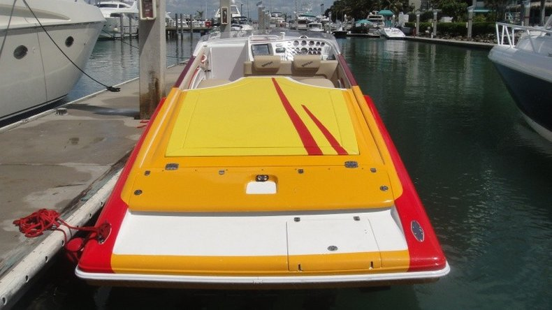Thumbnail 21 for Used 2004 Hustler 50 Performance Yacht boat for sale in West Palm Beach, FL