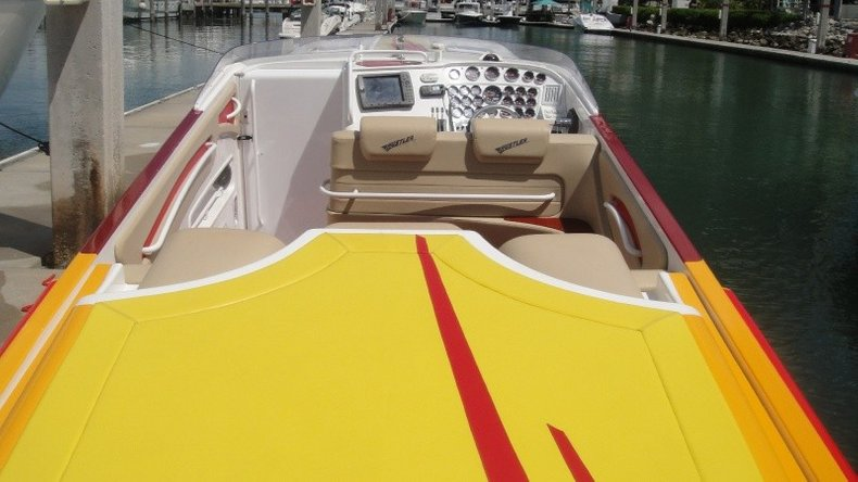 Thumbnail 53 for Used 2004 Hustler 50 Performance Yacht boat for sale in West Palm Beach, FL