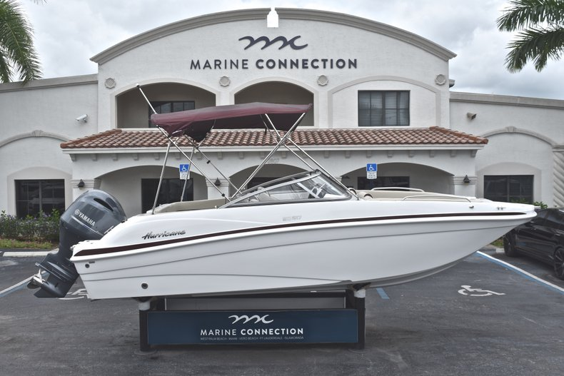 New 2019 Hurricane 217 SunDeck OB boat for sale in Fort Lauderdale, FL
