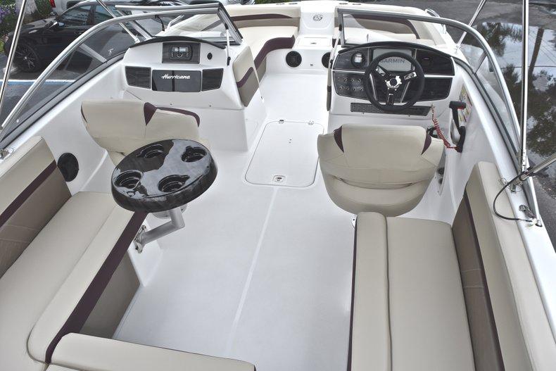 Thumbnail 11 for New 2019 Hurricane 217 SunDeck OB boat for sale in Vero Beach, FL