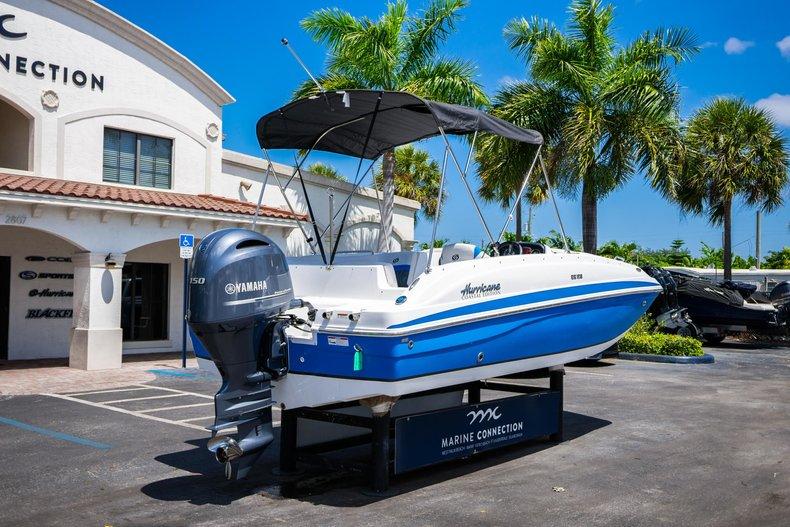 Thumbnail 7 for New 2019 Hurricane 188 SunDeck Sport OB boat for sale in Vero Beach, FL