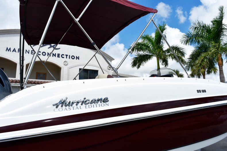 Thumbnail 8 for New 2019 Hurricane 188 SunDeck Sport OB boat for sale in West Palm Beach, FL