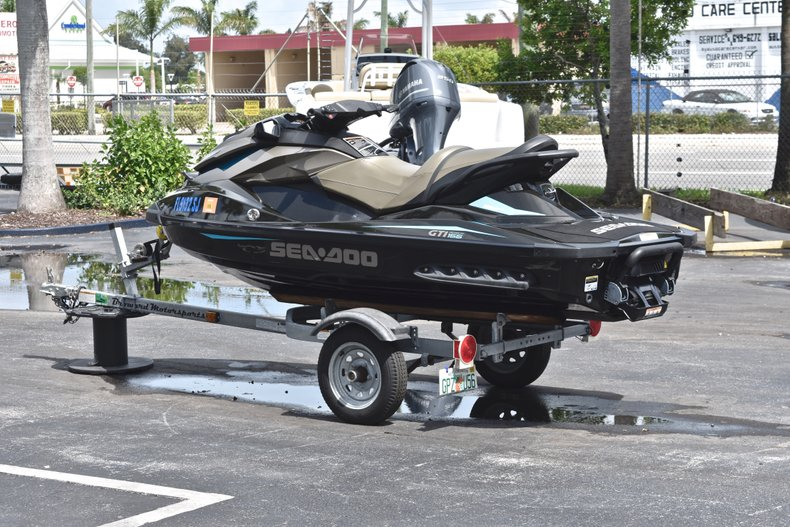 Thumbnail 5 for Used 2016 Sea-Doo GTI 155 boat for sale in West Palm Beach, FL