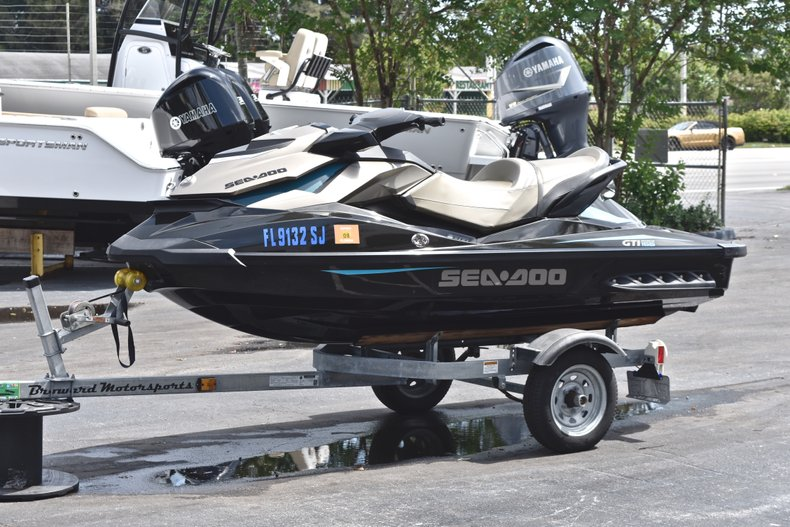 Thumbnail 3 for Used 2016 Sea-Doo GTI 155 boat for sale in West Palm Beach, FL