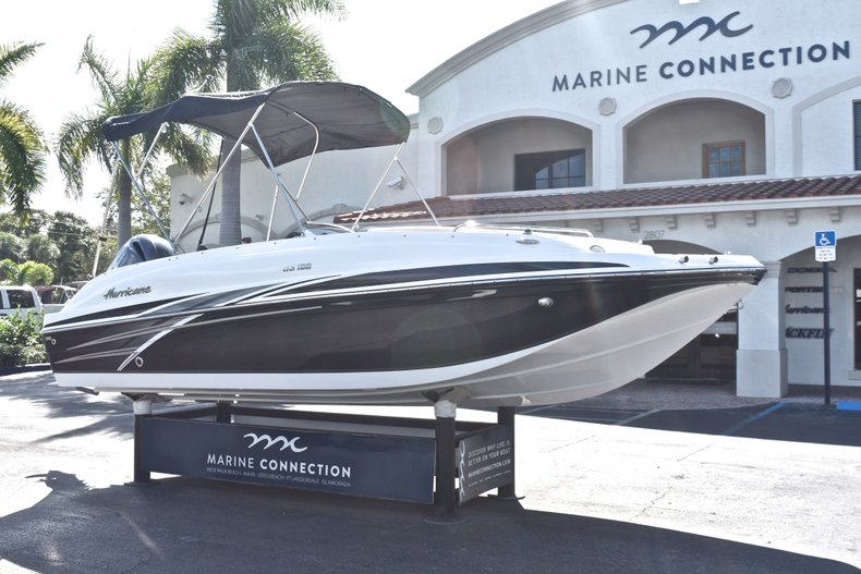 Thumbnail 1 for New 2019 Hurricane 188 SunDeck Sport OB boat for sale in West Palm Beach, FL