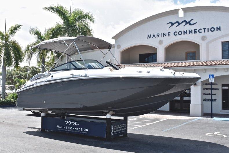 Thumbnail 1 for New 2019 Hurricane SunDeck SD 2200 OB boat for sale in Vero Beach, FL