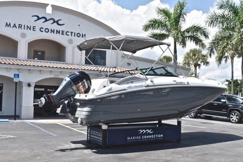 Thumbnail 7 for New 2019 Hurricane SunDeck SD 2200 OB boat for sale in Vero Beach, FL
