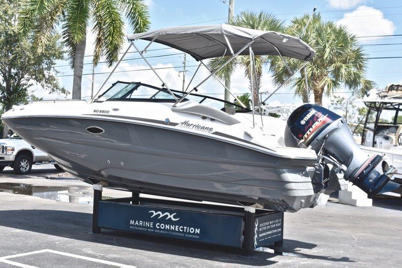 Thumbnail 5 for New 2019 Hurricane SunDeck SD 2200 OB boat for sale in Vero Beach, FL