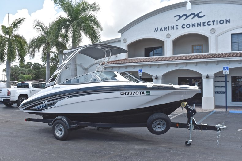 Thumbnail 1 for Used 2017 Yamaha AR 190 boat for sale in West Palm Beach, FL