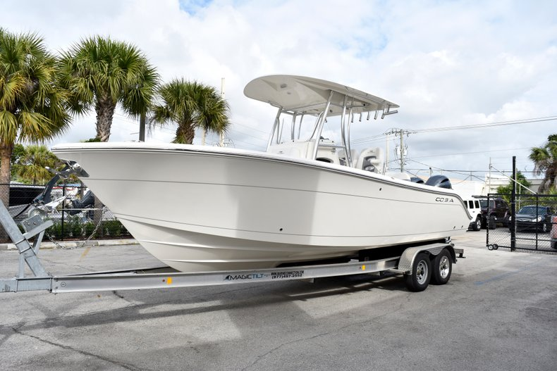 Thumbnail 1 for New 2019 Cobia 261 Center Console boat for sale in Vero Beach, FL