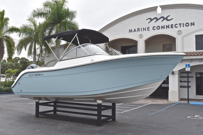 Thumbnail 1 for New 2019 Cobia 220 Dual Console boat for sale in Miami, FL