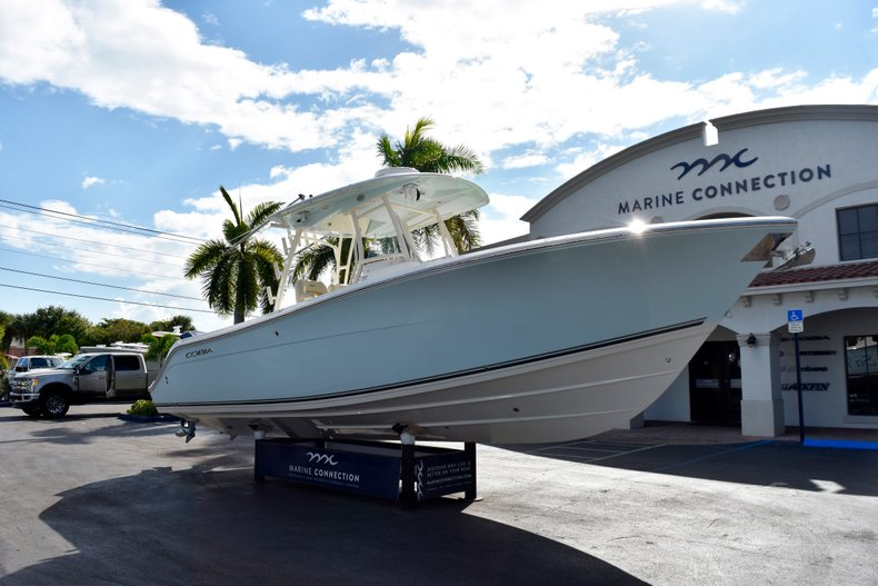 Thumbnail 1 for Used 2016 Cobia 296 Center Console boat for sale in West Palm Beach, FL
