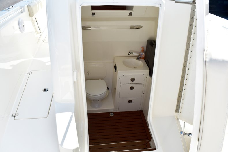 Thumbnail 57 for Used 2016 Cobia 296 Center Console boat for sale in West Palm Beach, FL