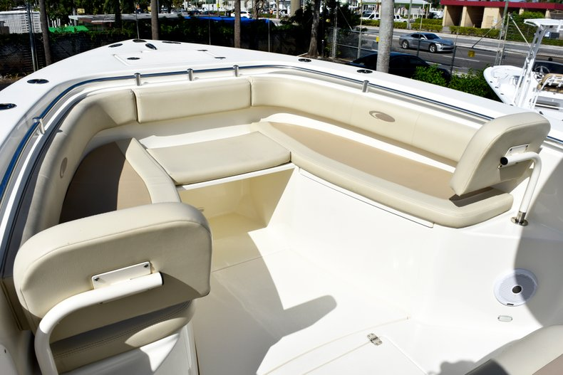 Thumbnail 65 for Used 2016 Cobia 296 Center Console boat for sale in West Palm Beach, FL
