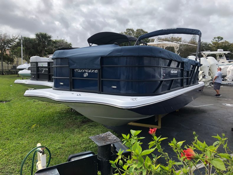 Thumbnail 0 for New 2019 Hurricane FunDeck FD 236 Wet Bar OB boat for sale in West Palm Beach, FL