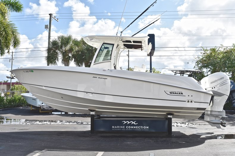 Thumbnail 4 for Used 2016 Boston Whaler 280 Outrage boat for sale in West Palm Beach, FL