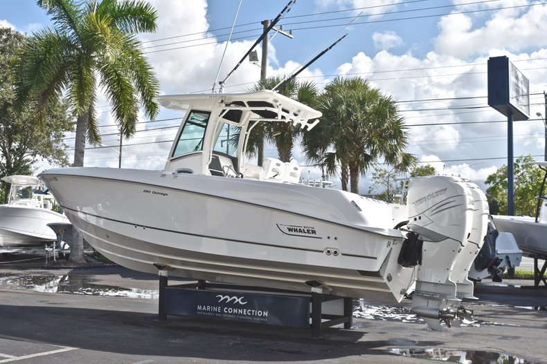 Thumbnail 5 for Used 2016 Boston Whaler 280 Outrage boat for sale in West Palm Beach, FL
