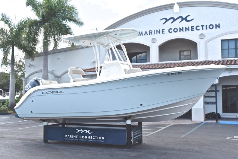 Thumbnail 1 for Used 2016 Cobia 220 Center Console boat for sale in West Palm Beach, FL