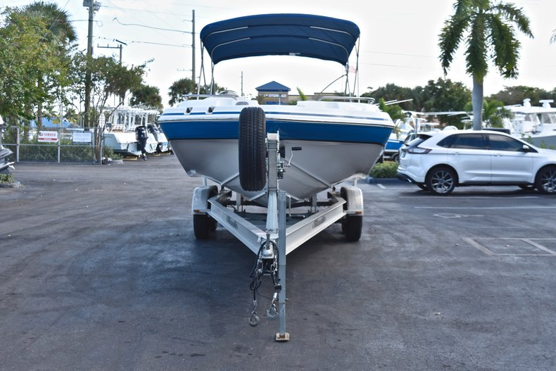 Thumbnail 2 for Used 2014 Hurricane SunDeck Sport SS 232 OB boat for sale in West Palm Beach, FL