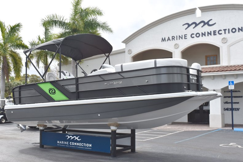 Thumbnail 1 for New 2019 Hurricane FunDeck FD 236 Wet Bar OB boat for sale in West Palm Beach, FL
