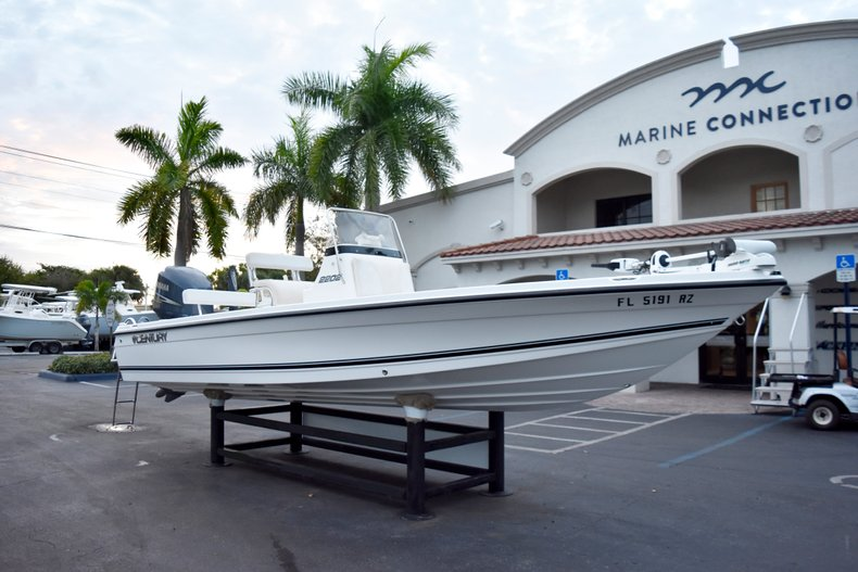 Thumbnail 1 for Used 2010 Century 2202 Bay Boat boat for sale in West Palm Beach, FL