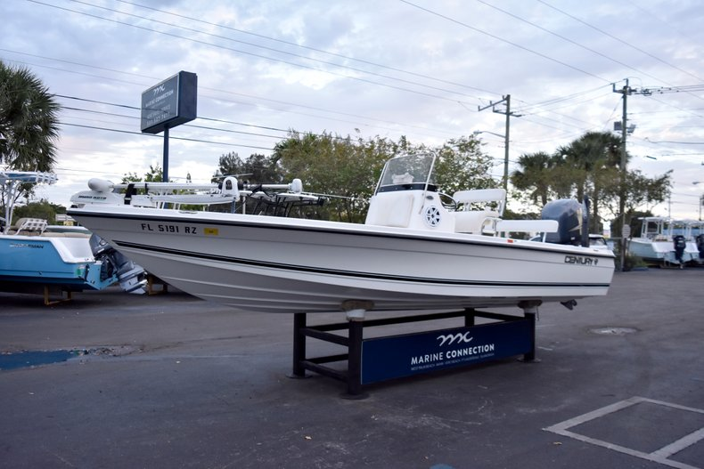 Thumbnail 3 for Used 2010 Century 2202 Bay Boat boat for sale in West Palm Beach, FL