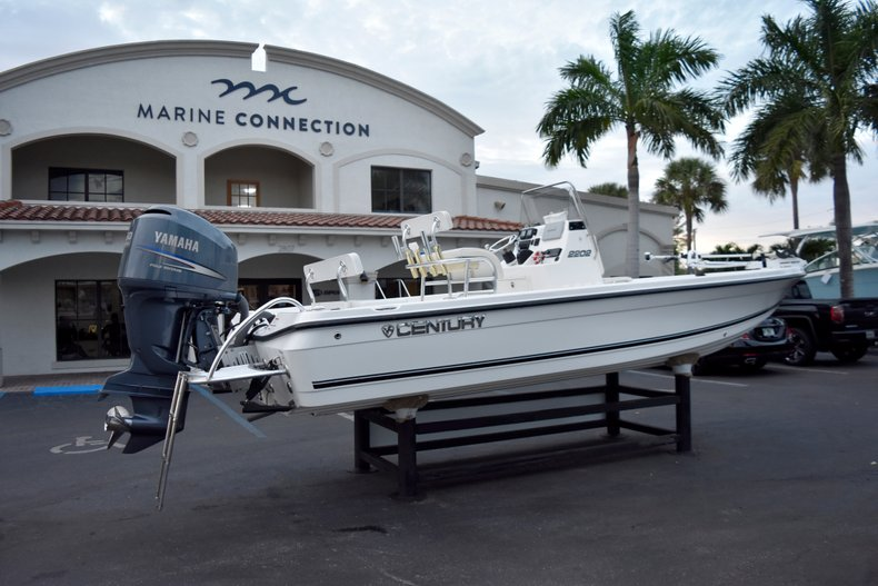 Thumbnail 7 for Used 2010 Century 2202 Bay Boat boat for sale in West Palm Beach, FL