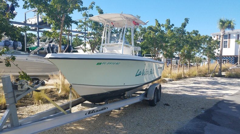 Thumbnail 1 for Used 2009 Sailfish 218 Center Console boat for sale in Islamorada, FL