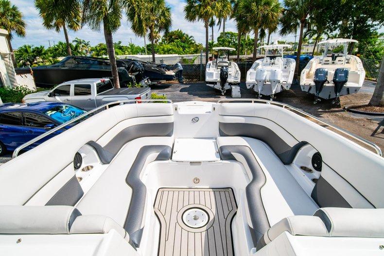 Thumbnail 31 for New 2019 Hurricane SunDeck SD 2486 OB boat for sale in Vero Beach, FL