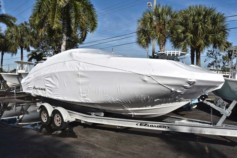 New 2019 Hurricane SunDeck SD 2486 OB boat for sale in West Palm Beach, FL