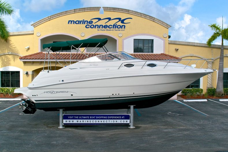 Used 2002 Monterey 262 Cruiser Boat For Sale In West Palm Beach FL