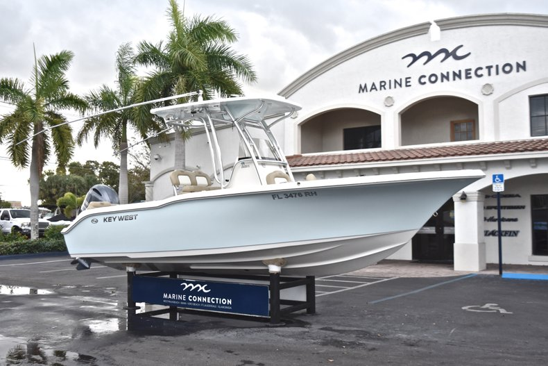 Thumbnail 1 for Used 2017 Key West 239 FS Center Console boat for sale in West Palm Beach, FL