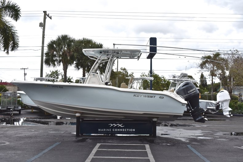 Thumbnail 4 for Used 2017 Key West 239 FS Center Console boat for sale in West Palm Beach, FL