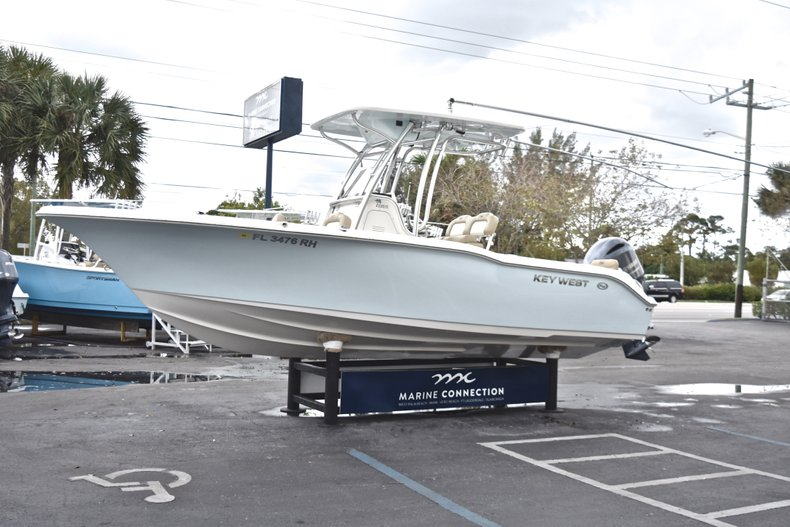 Thumbnail 3 for Used 2017 Key West 239 FS Center Console boat for sale in West Palm Beach, FL