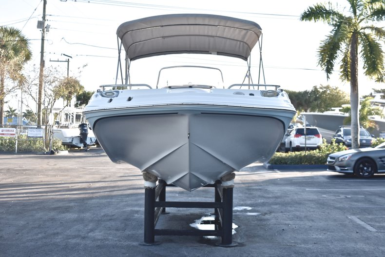 Thumbnail 2 for Used 2017 Hurricane SunDeck Sport SS 211 OB boat for sale in West Palm Beach, FL
