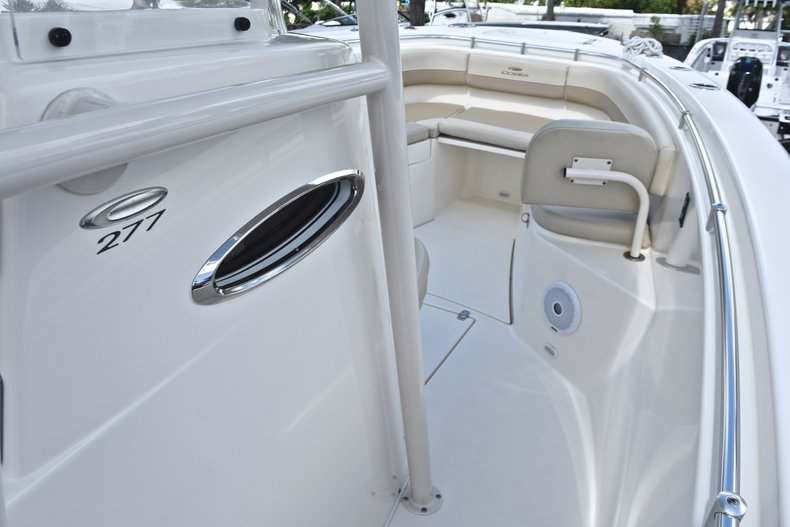 Thumbnail 45 for Used 2018 Cobia 277 Center Console boat for sale in West Palm Beach, FL