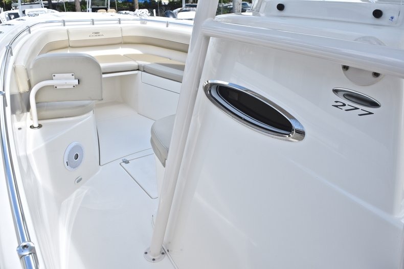 Thumbnail 44 for Used 2018 Cobia 277 Center Console boat for sale in West Palm Beach, FL