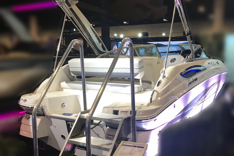 New 2019 Hurricane SunDeck SD 2410 OB boat for sale in West Palm Beach, FL