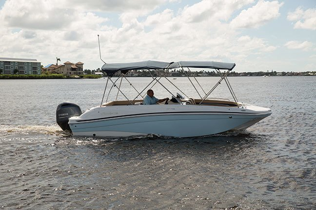 Image 1 for 2019 Hurricane 218 SunDeck Sport OB in West Palm Beach, FL